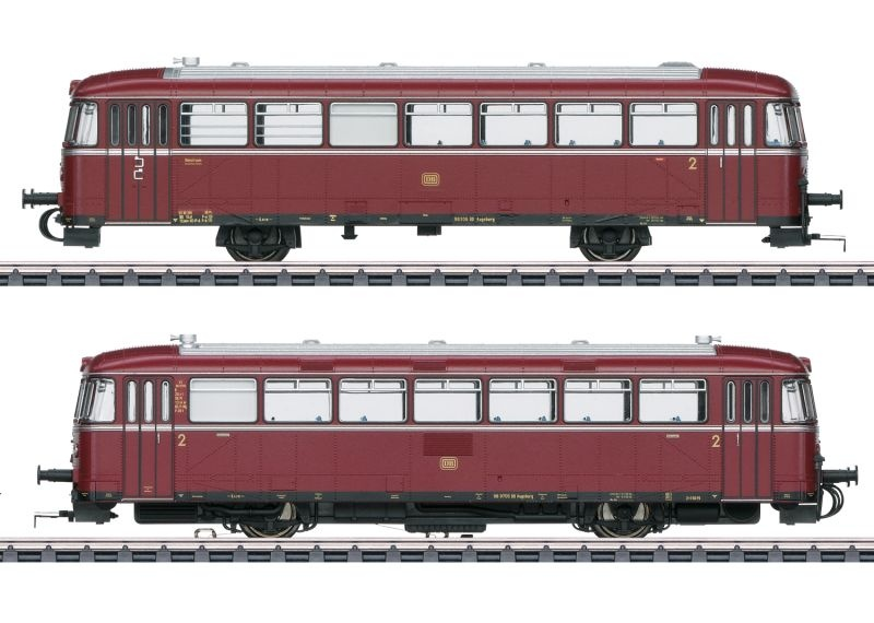 Schienenbus VT98 + VS98 der DB, DCC, mfx+, Sound, Spur H0