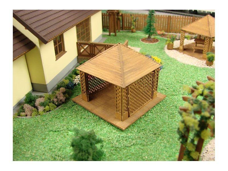 Sommerhaus I Laser-Cut Bausatz, Spur H0