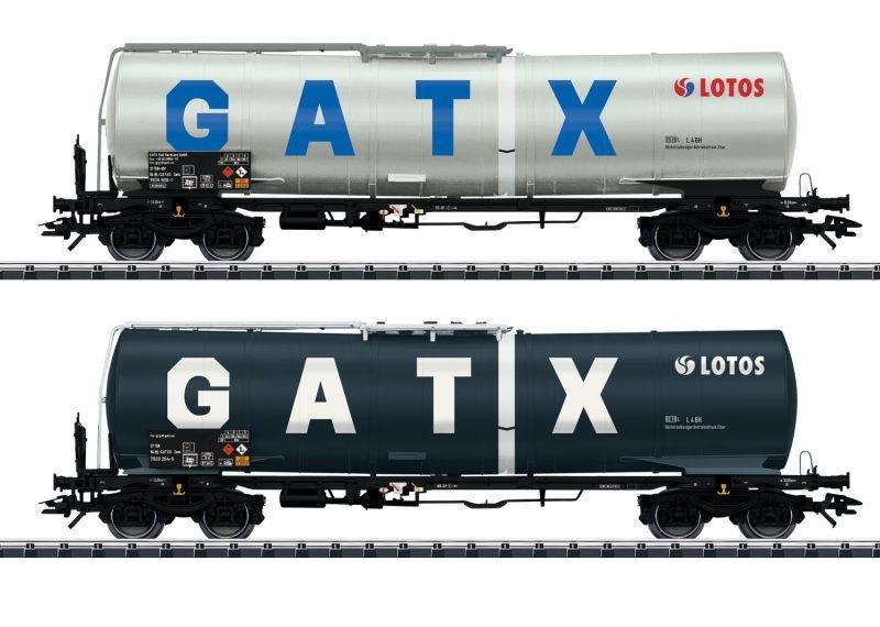 Kesselwagen-Set der Lotos/GATX, DC, Spur H0