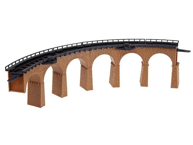 2 Viaduktbrücken, gebogen Bausatz N