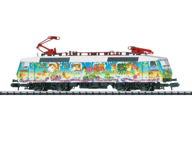 E-Lok Baureihe 120 Kunstlok Weihnachten DB AG Spur N