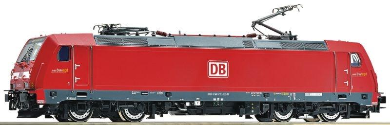 Elektrolokomotive 146 219-1 der DB AG, DC, Spur H0