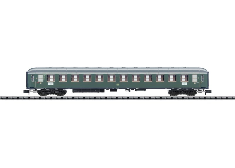 Schnellzugwagen B4üm-63 2.Kl. der DB, Minitrix Spur N