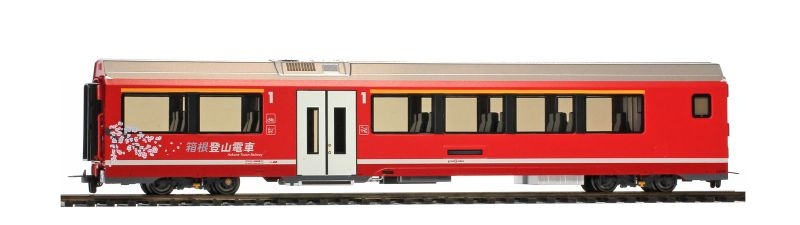 RhB A 570 01 AGZ Endwagen Hakone Tozan Railway, H0m