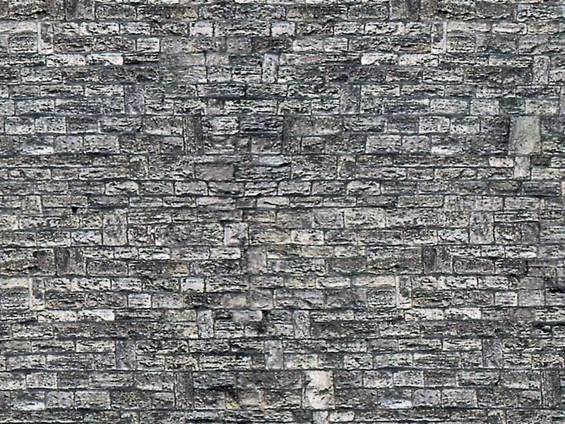 Mauerplatte Haustein aus Karton, 25 x 12,5 cm, Spur N