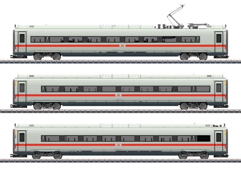 Ergänzungswagen-Set zum ICE 4 der DB AG, LED, AC, Spur H0