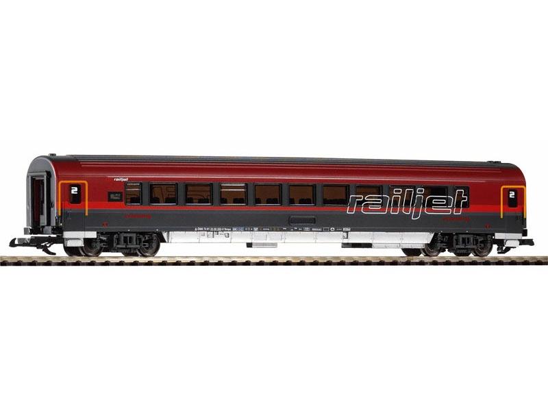 Personenwagen 2. Kl. Railjet der ÖBB, Ep. VI, Spur G