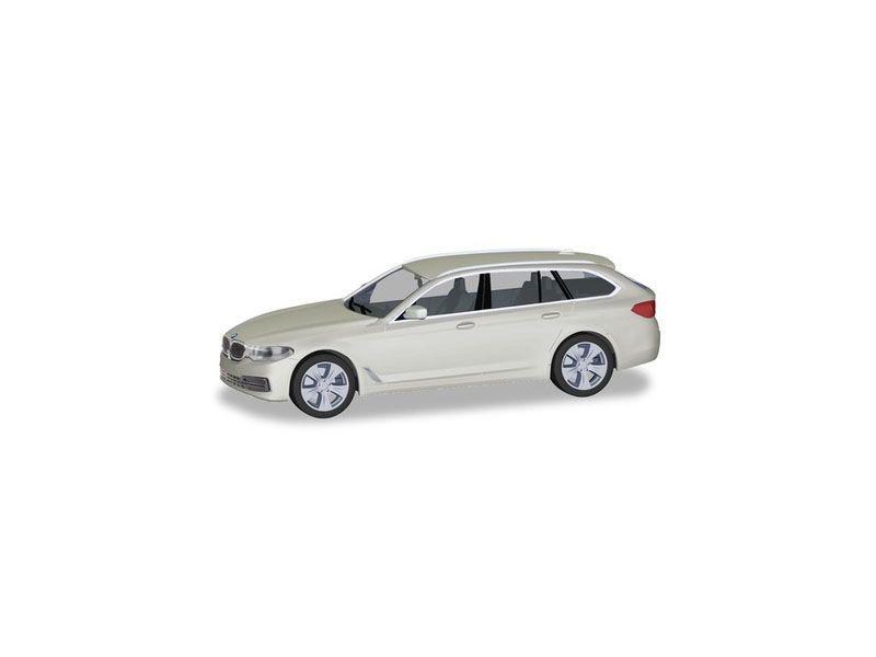 BMW 5er Touring TM, alpinweiß, 1:87 / H0