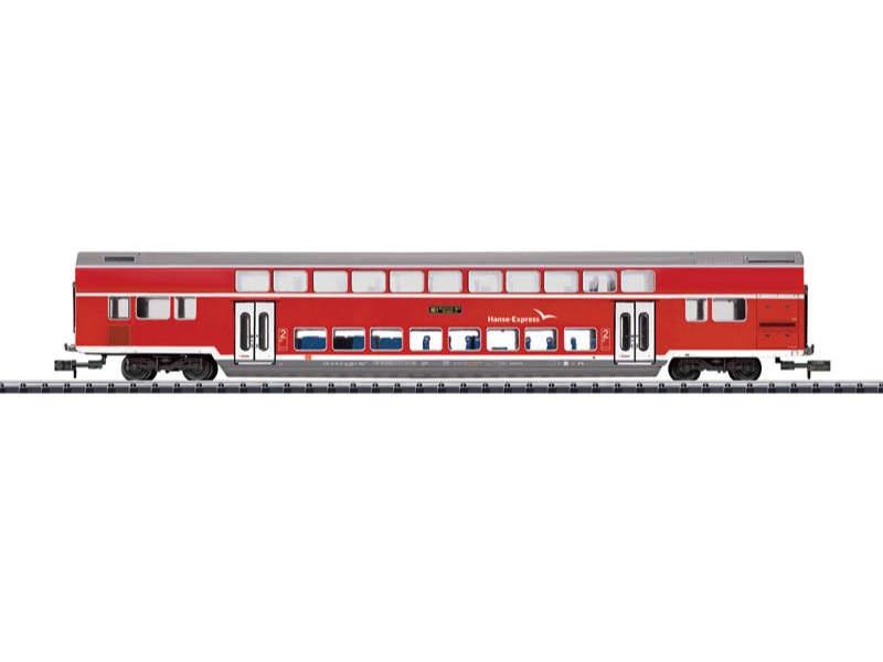 Doppelstockwagen Hanse-Express DB AG Spur N