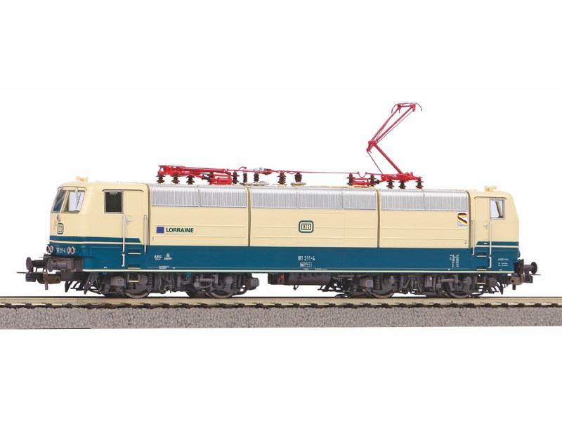 E-Lok BR 181.2 der DB, Ep. IV Lorraine, DC, Spur H0