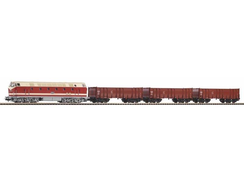 Start-Set Güterzug BR 119 der DR + 3 Wagen, A-Gleis, DC, H0