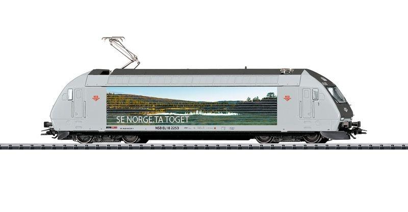 E-Lok Reihe EL18 der NSB, Sound, DCC, mfx, Spur H0