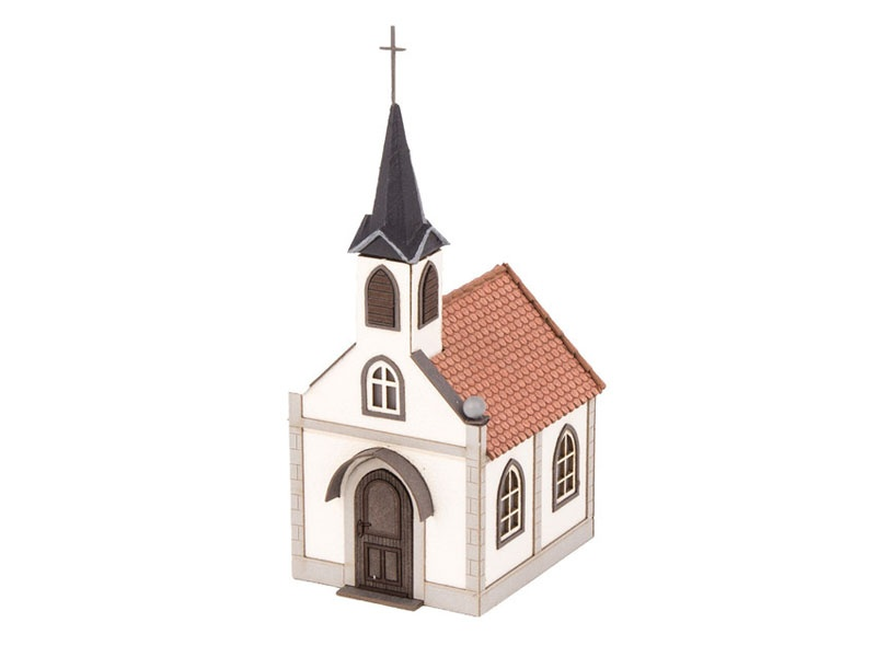 Kapelle St. Nepomuk Laser-Cut Bausatz Spur H0