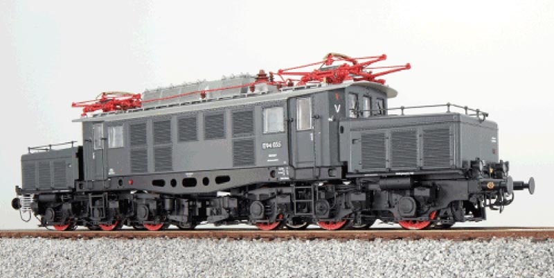 E-Lok BR E94 035 der DRG, Epoche II, grau, H0