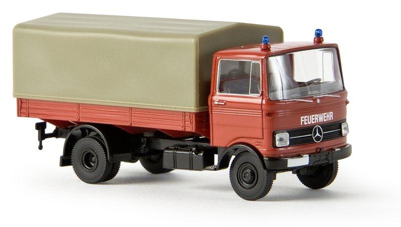 MB LP 608 PP Feuerwehr, Spur H0