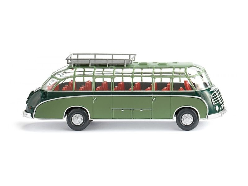 Reisebus (Setra S8) - dunkelgrün/resedagrün 1:87 / H0