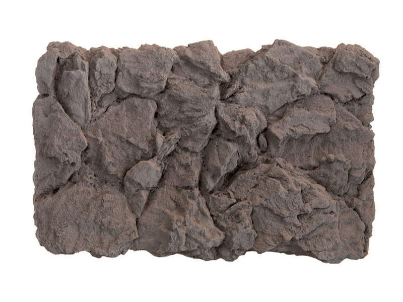 Felsplatte Basalt aus Struktur-Hartschaum 32 x 21 cm