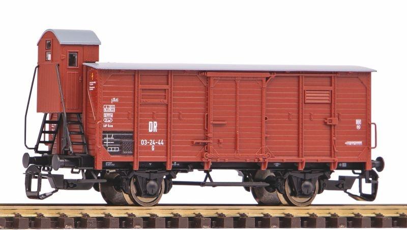 Gedeckter Güterwagen G02 DR III mit Bremserhaus, Spur TT