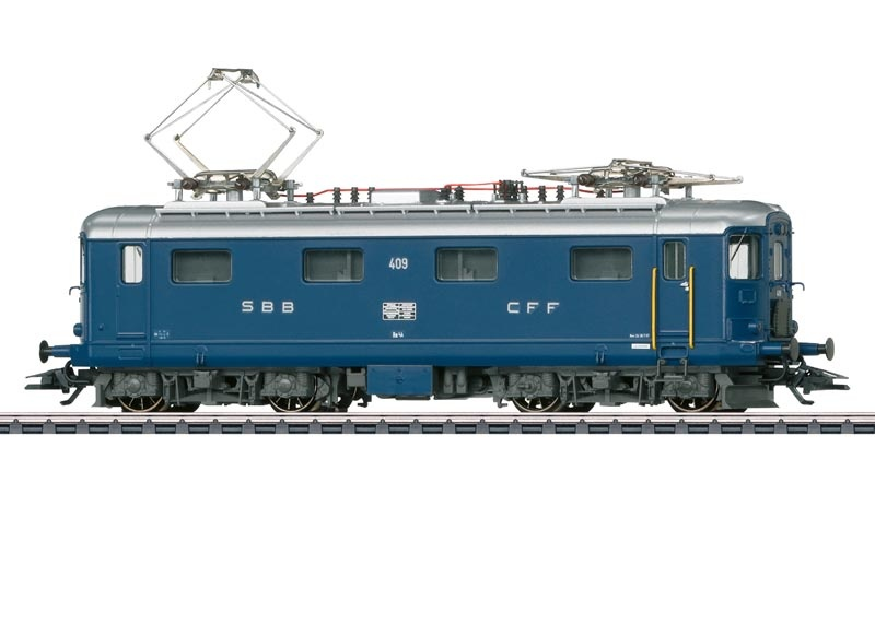 E-Lok Serie Re 4/4 I blau SBB, Sound, mfx+, DCC, AC, Spur H0