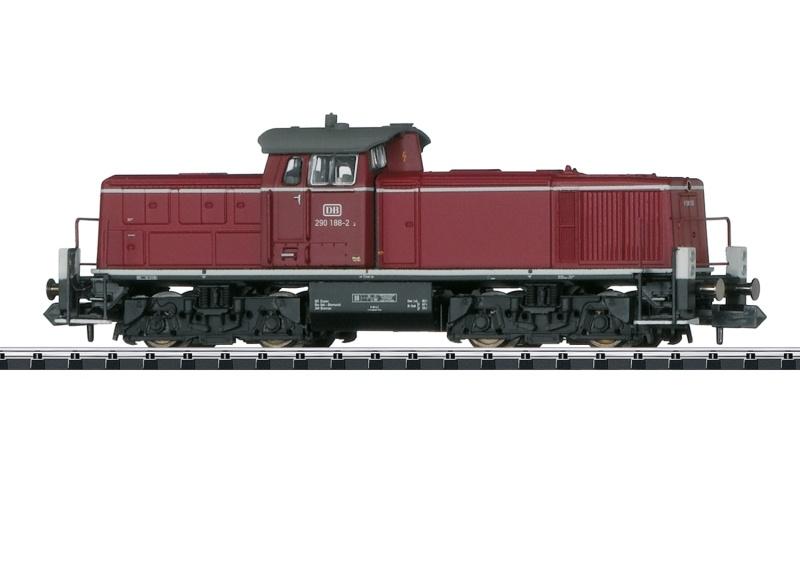 Diesellokomotive Baureihe 290 DB, Sound, Minitrix Spur N