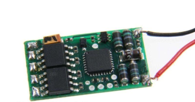 Funktionsdecoder DCC & MM, für H0, 0, I, G