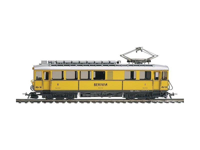 Nostalgietriebwagen Bernina ABe 4/4 30 der RhB, Spur H0m