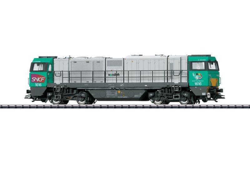 Schwere Diesellok Vossloh G 2000 BB, SNCF, DCC, mfx, DC, H0