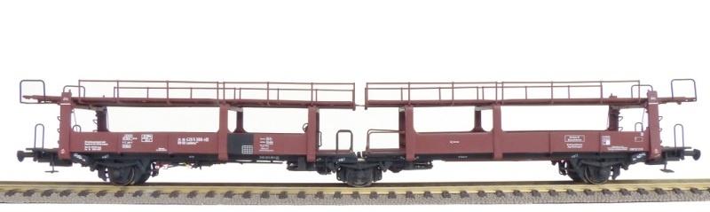 Autotransportwagen Leakkms 542 der DB, DC, Spur H0
