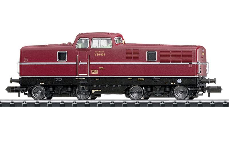 Diesellok BR V80 der DB, Sound, mfx, DCC, Minitrix Spur N