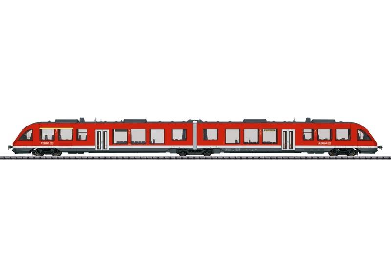 Nahverkehrs-Triebwagen LINT 41 DB AG, Sound mfx, DC, Spur H0