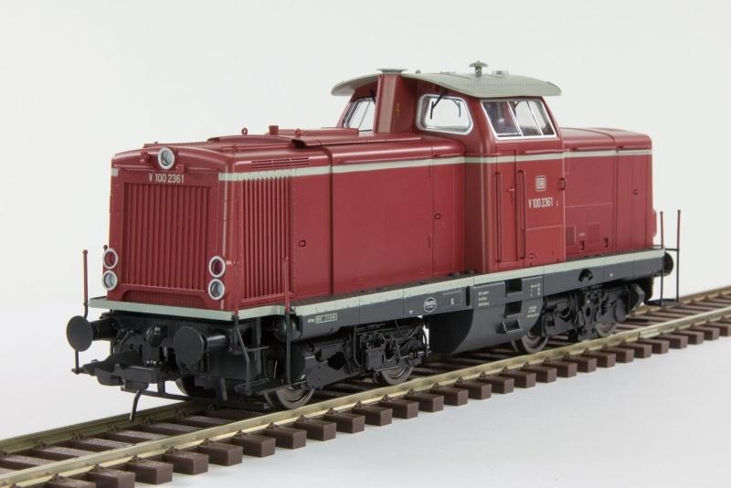 Diesellok V100.20 der DB, Ep.3, rot, Spur 0