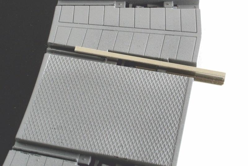 Material für vier zusätzliche Abgänge für Drehgleis, Spur 0