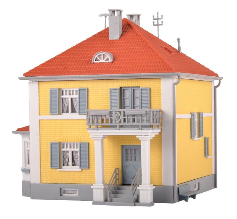 Wohnhaus Pappelweg, Bausatz, Spur H0