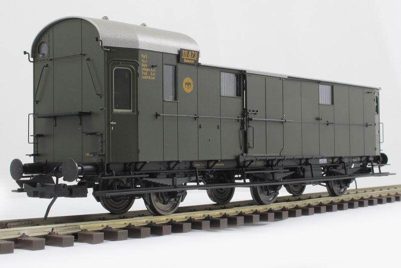 Preußischer Gepäckwagen Pwi11 der DRG, Epoche II, Spur 0