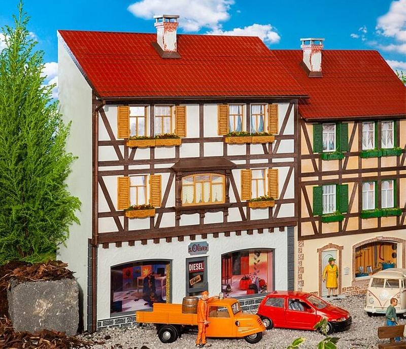 Stadt-Reliefhaus Boutique Bausatz, Spur G