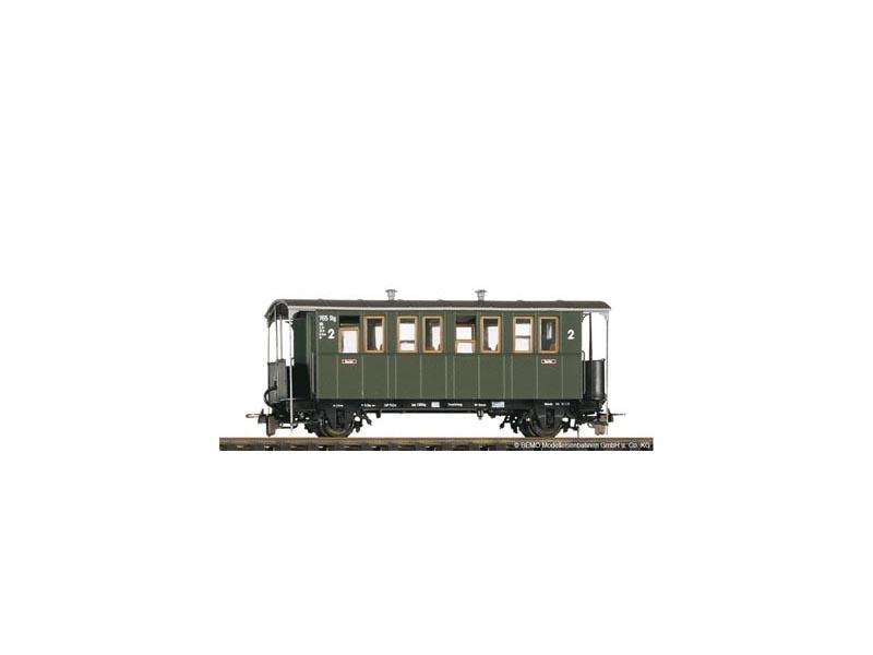 2-achsiger Personenwagen KBi 731 der DB, Spur H0e