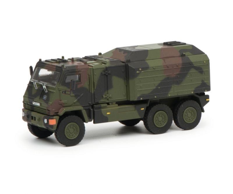 YAK Radfahrzeug Bundeswehr, flecktarn, 1:87 / Spur H0