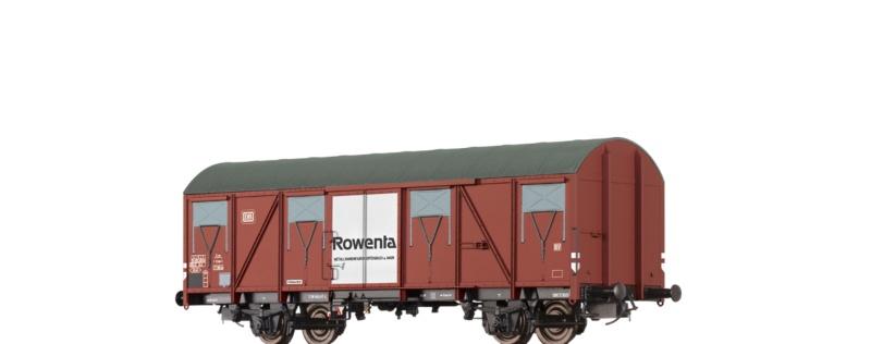 Gedeckter Güterwagen Gbs 245 Rowenta der DB, DC, Spur H0