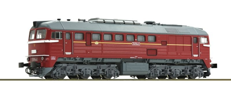 Diesellokomotive Rh T 679 der CSD, Sound, Spur TT