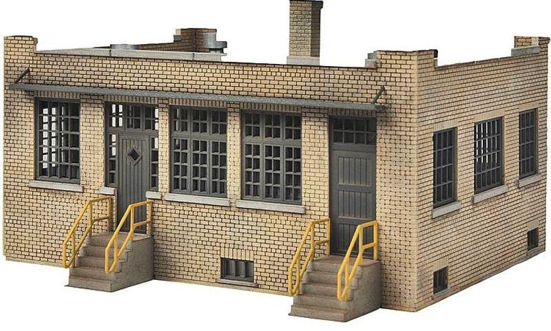 Industriebüro, Bausatz, Spur H0