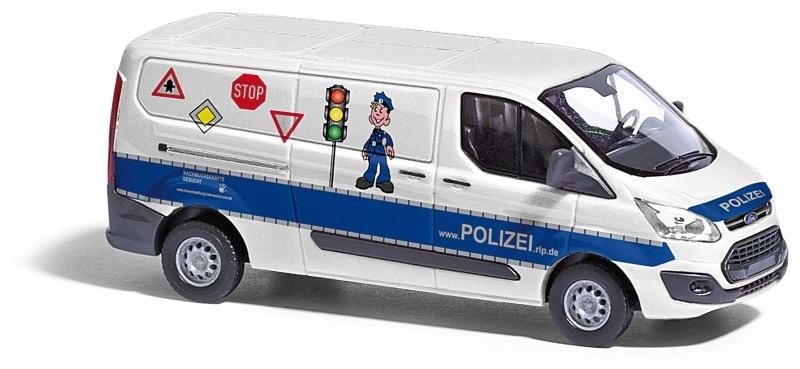 Ford Transit Custom, Polizei Verkehrssicherheit, 1:87 / H0