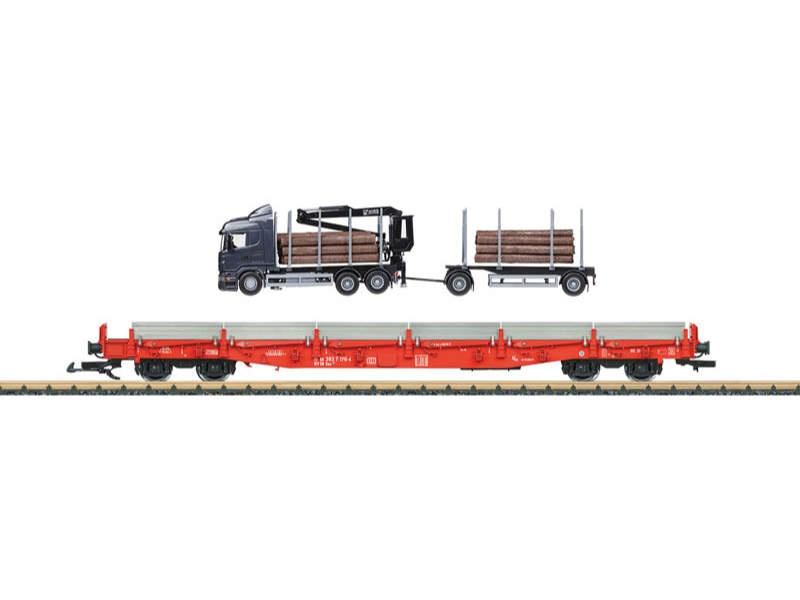 Rungenwagen-Set DB AG Spur G