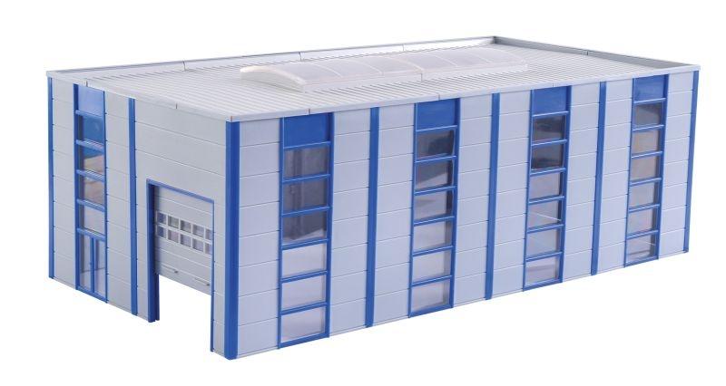 Lager- /Industriehalle modern, Bausatz, Spur H0