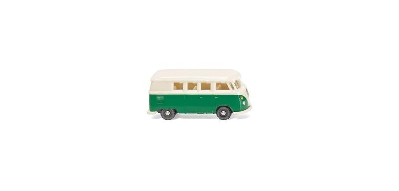 VW T1 Bus - patinagrün/perlweiß, Spur N