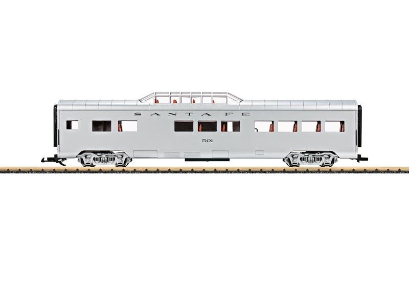 Santa Fe Dome Car, Spur G