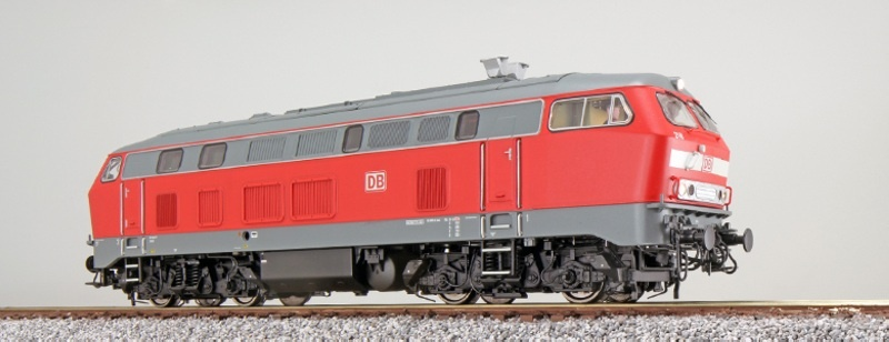Diesellok, BR 218, 218 196 DB, Verkehrsrot, AC/DC, Sound, H0