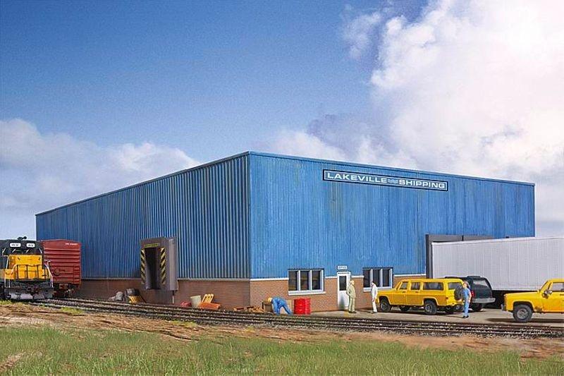 Lagerhaus Lakeville, Bausatz, Spur H0