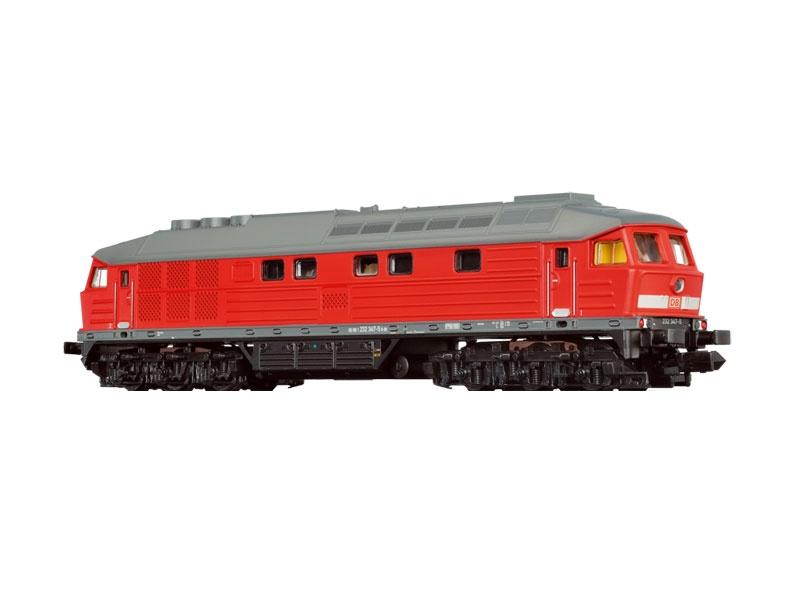 Diesellokomotive BR 232 der DB Cargo, VI, Sound, Spur N