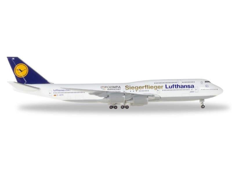 Boeing 747-8 Intercon Siegerflieger Olympia Rio 2016 1:500