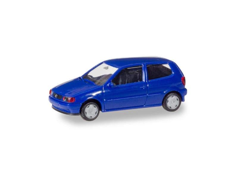 MiniKit: VW Polo 2-türig, ultramarinblau, 1:87 / H0